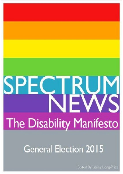Picture of Disability Manifesto cover page