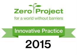Zero Project Award logo